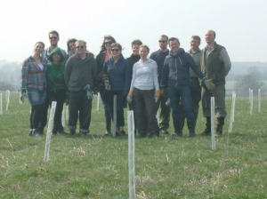 Tree Planting in The Heart of England Forest