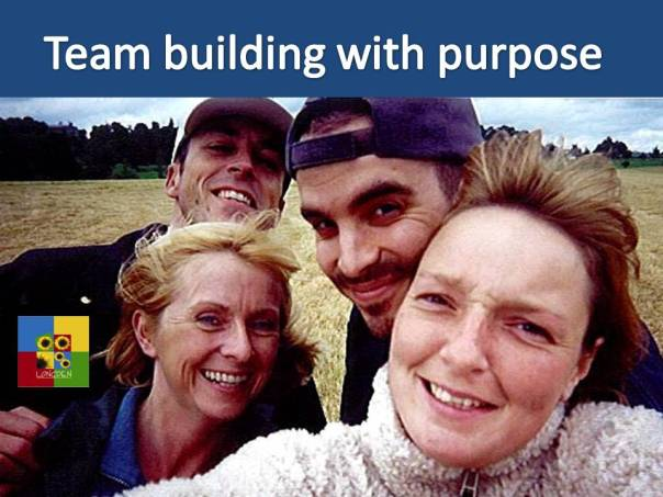 Teambuilding with purpose