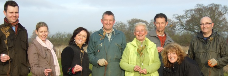 CSR and tree planting in The Heart of England Forest
